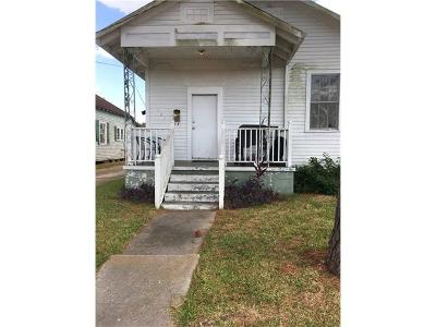 Westwego Single Family Home For Sale: 161 Laroussini Street