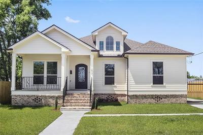 New Orleans Single Family Home For Sale: 1679 Pratt Drive