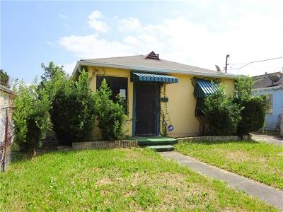 New Orleans Single Family Home For Sale: 3817 Hamburg Street