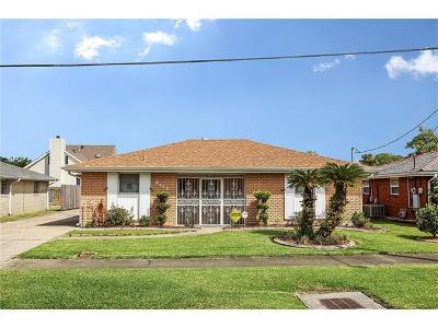 Marrero Single Family Home For Sale: 4513 Pete Street