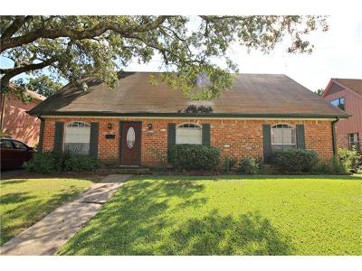 New Orleans Single Family Home For Sale: 5731 Norland Avenue