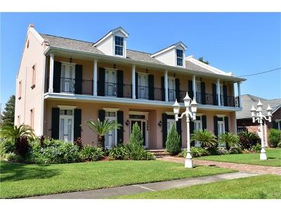 Kenner Single Family Home For Sale: 5400 Cocos Plumosas Drive
