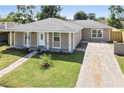 New Orleans Single Family Home For Sale: 7608 Trapier Drive