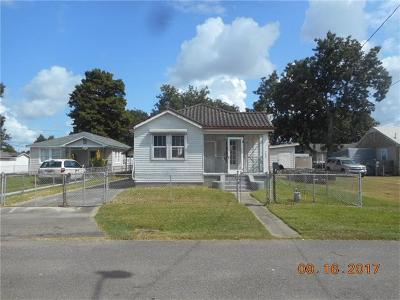 Marrero Single Family Home For Sale: 7508 6th Street