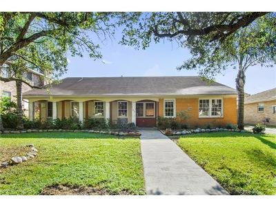New Orleans LA Single Family Home Pending Continue to Show: $475,000