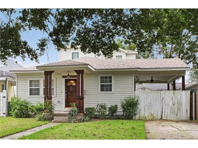 Single Family Home For Sale: 536 Metairie Lawn Drive