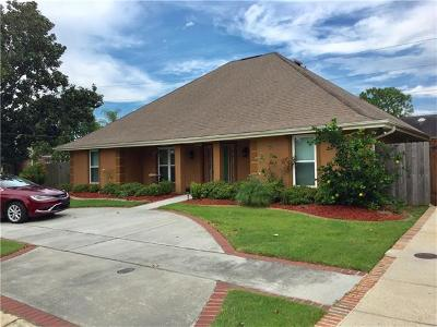 Kenner Single Family Home For Sale: 5545 David Drive
