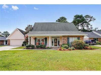 Slidell Single Family Home For Sale: 1415 Lake Village Boulevard