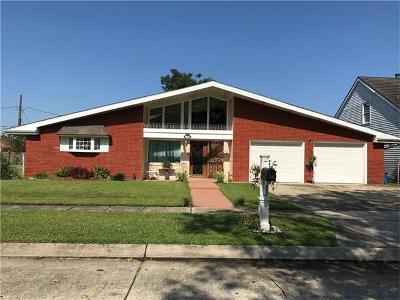 Arabi Single Family Home For Sale: 34 Carolyn Court