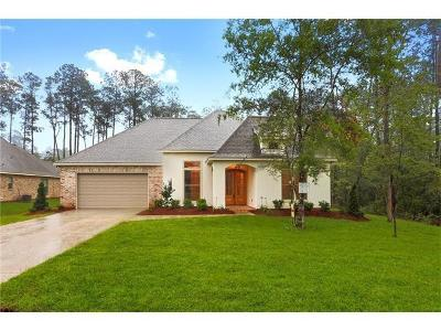 Madisonville Single Family Home For Sale: 424 Belle Pointe Drive