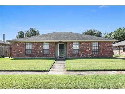 Kenner Single Family Home For Sale: 3249 Grandlake Boulevard