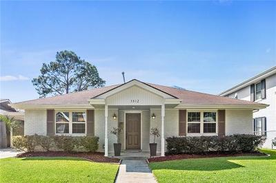 Single Family Home For Sale: 3812 Clifford Drive