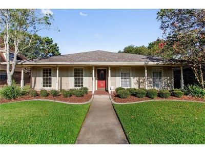 Kenner Single Family Home Pending Continue to Show: 17 Clevner Drive