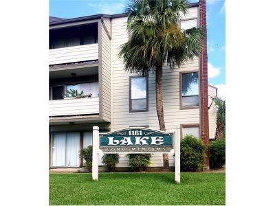 Jefferson Parish, Orleans Parish Condo For Sale: 1161 Lake Avenue #127