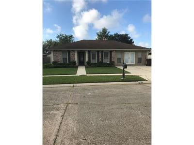 Kenner Single Family Home For Sale: 9 Calcasieu Court