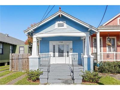 New Orleans Single Family Home For Sale: 1708 Joliet Street