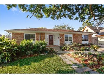 Metairie Single Family Home Pending Continue to Show: 6200 York Street