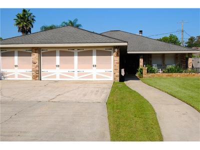Destrehan Single Family Home For Sale: 87 Melrose Drive