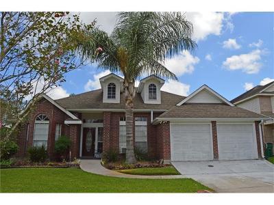 Gretna Single Family Home For Sale: 3213 Jason Lane