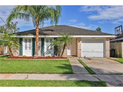 Kenner Single Family Home For Sale: 3208 Roosevelt Boulevard