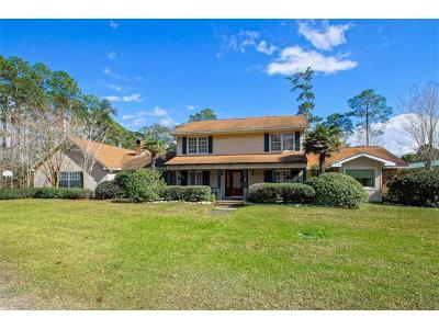 Slidell Single Family Home Pending Continue to Show: 32599 C C Road