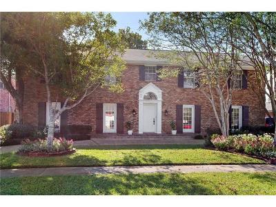 Kenner Single Family Home For Sale: 5408 Janice Avenue