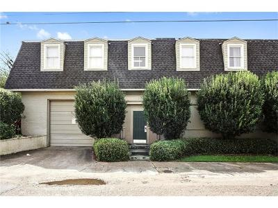 New Orleans Condo For Sale: 1020 Terpsichore Street #D