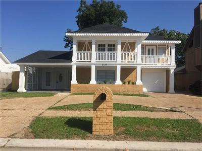 Marrero Single Family Home For Sale: 5108 Highland Drive