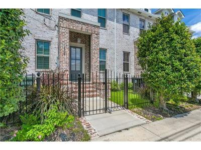 New Orleans Townhouse For Sale: 1509 Robert C Blake (Carondelet) Avenue