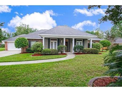 Slidell Single Family Home For Sale: 100 Windsor Drive