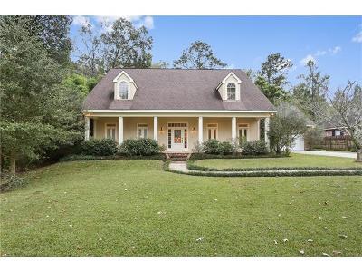 Madisonville Single Family Home For Sale: 18 Deloaks Drive