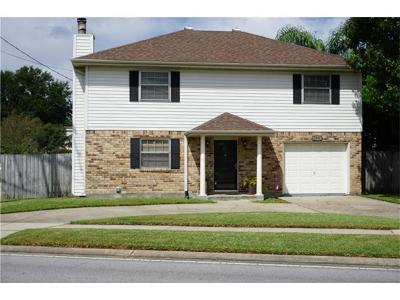 Kenner Single Family Home Pending Continue to Show: 5301 David Drive