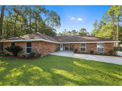 Slidell Single Family Home For Sale: 127 Herwig Bluff Road