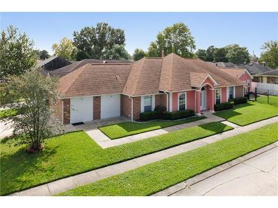 Kenner Single Family Home For Sale: 3045 Tennessee Avenue