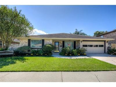 Kenner Single Family Home For Sale: 25 Boimare Avenue