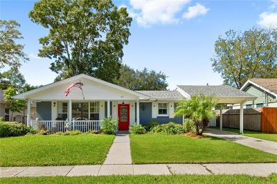 River Ridge, Harahan Single Family Home For Sale: 46 Hennessey Court