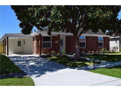 Kenner Single Family Home For Sale: 3291 Chateau Boulevard