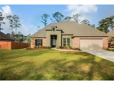 Madisonville Single Family Home For Sale: 421 Belle Pointe Drive