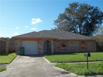 Marrero Single Family Home For Sale: 1824 Watling Drive