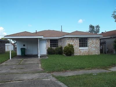 Gretna Single Family Home For Sale: 3 Dulcich Drive