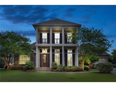 Gretna Single Family Home For Sale: 3705 Lake Kristin Drive