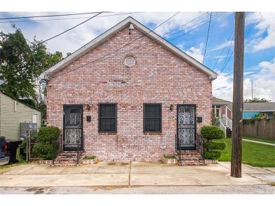 New Orleans Multi Family Home For Sale: 8821 Plum Street