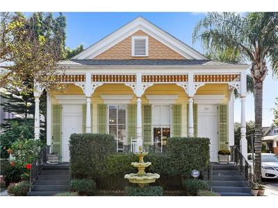 New Orleans Single Family Home For Sale: 301 Delaronde Street