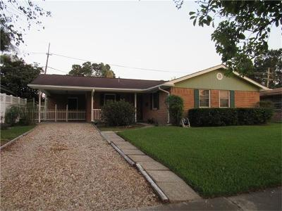 Kenner Single Family Home For Sale: 2602 Kentucky Avenue