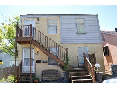 New Orleans Multi Family Home For Sale: 3321 Cherry Street