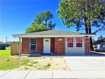Kenner Single Family Home For Sale: 3141 Ohio Street