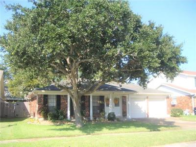 Kenner Single Family Home For Sale: 4161 Montrachet Drive
