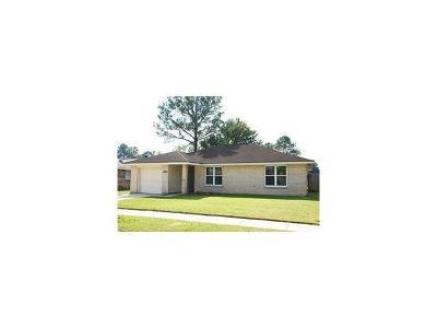 Marrero Single Family Home For Sale: 5424 Tusa Drive