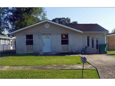 Kenner Single Family Home For Sale: 649 Cameron Court
