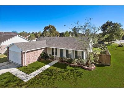 Slidell Single Family Home For Sale: 98 Riviera Drive